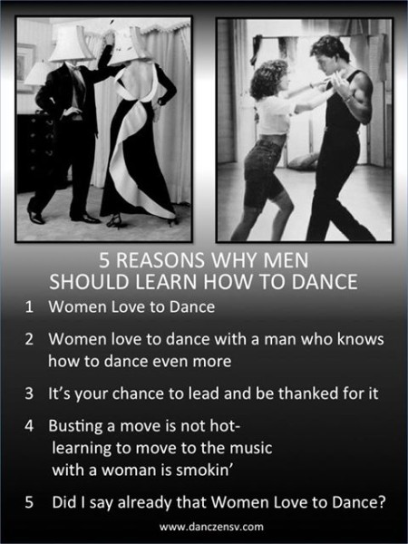 learn how to dance men