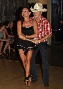 Debra dancing