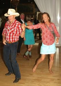 Kathy dancing